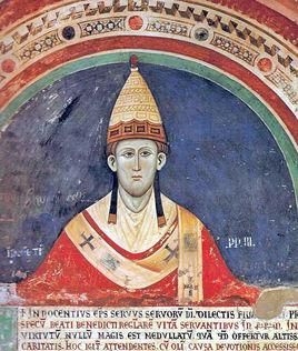 1216年7月16日 罗马教皇英诺森三世逝世